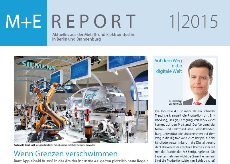 ME-Report Nr.1