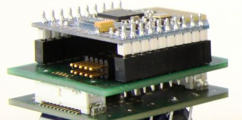 Smarter Sensor des Fraunhofer LBF als Prototyp